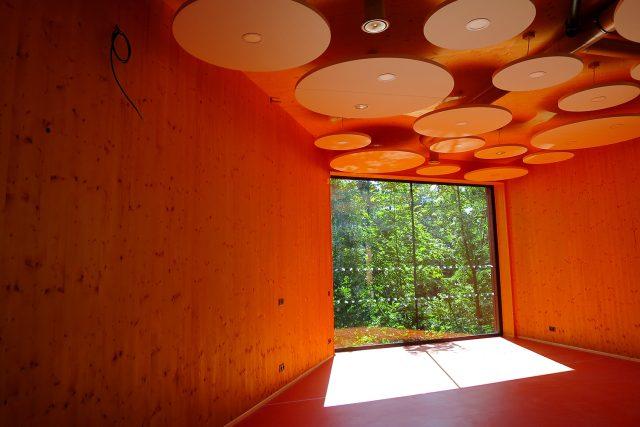 Interiér nového ekocentra v Pardubicích