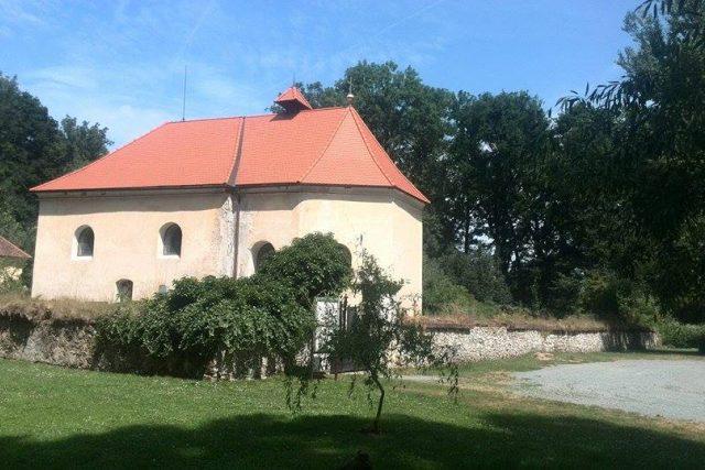 Kostel svatého Michala v dnes už neexistující obci Lepějovice