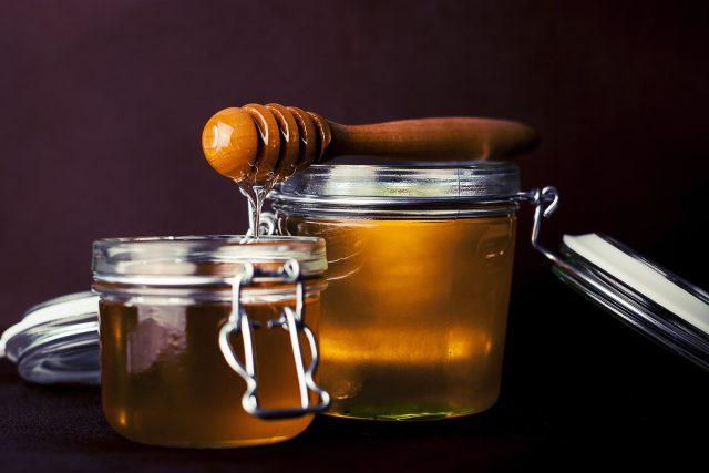 Med, potraviny, sladký (ilustrační foto)
