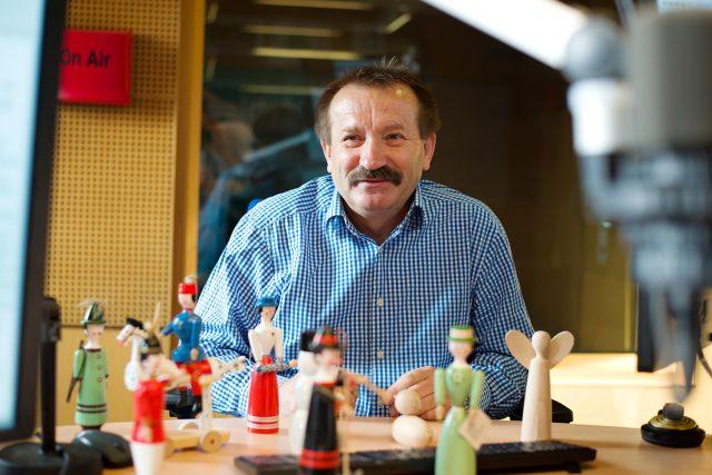 Výrobce hraček Zdeněk Bukáček