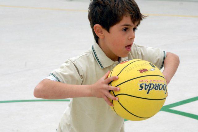 tělocvik, dítě, sport