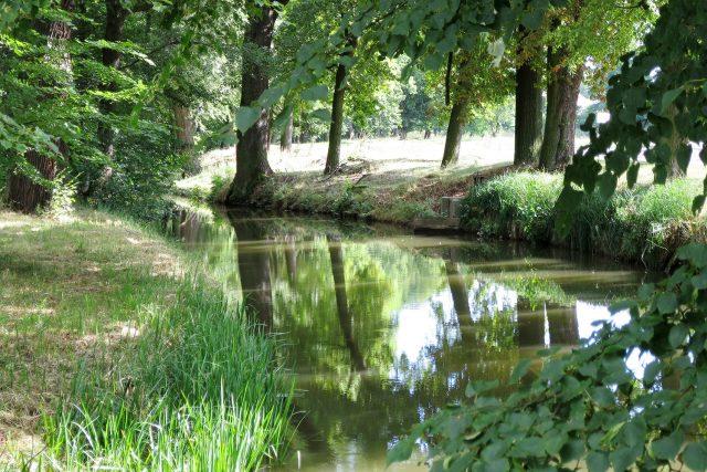 Opatovický kanál v Bohdanči