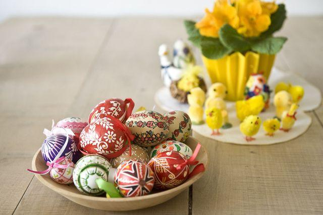 Velikonoční dekorace | foto: Filip Jandourek
