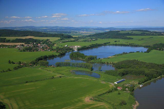 Opatov - krajina plná lesů a rybníků