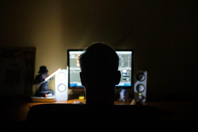 hacker, počítač, programátor