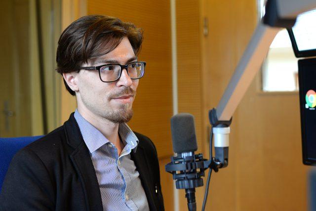 Spisovatel Lukáš Vavrečka | foto: Honza Ptáček,  Český rozhlas