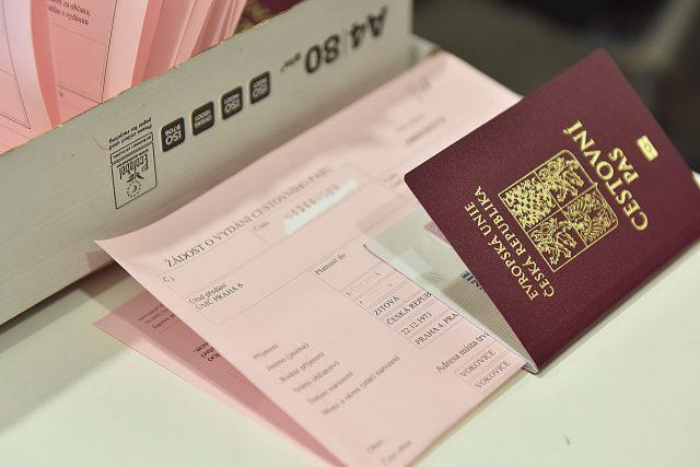 Cestovní pasy, pas, cestovní doklad