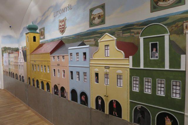Smetanovo náměstí si můžete prohlédnout i v hravé expozici Regionálního muzea v Litomyšli
