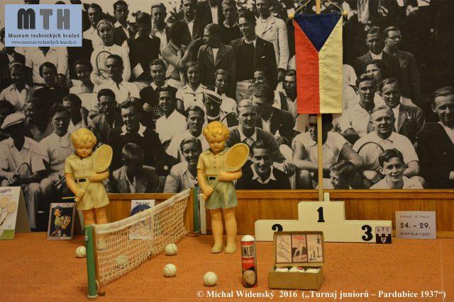 Historické diorama z roku 1937