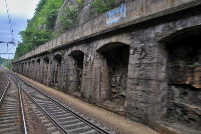 Bývalý tunel v Chocni | foto: Šárka Rusnáková