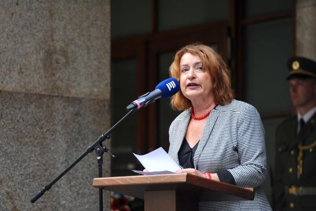 Vzpomínková akce při příležitosti výročí okupace 1968, Český rozhlas, Miluše Horská