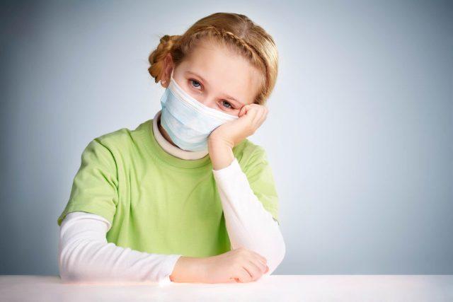 Nemocné dítě