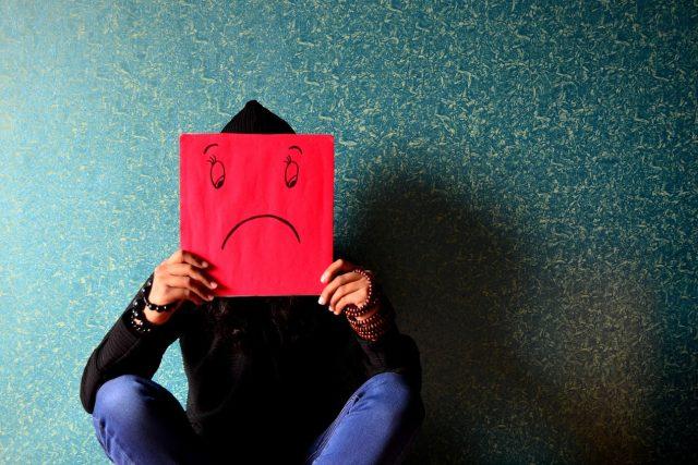 Stres a deprese (ilustrační foto)