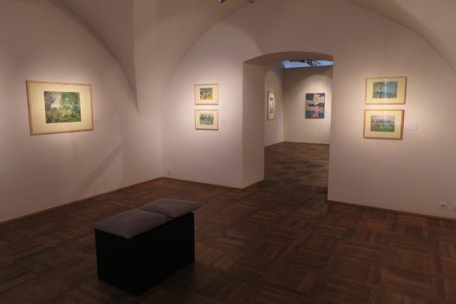 Výstavní prostory Domu U Jonáše Východočeské galerie v Pardubicích