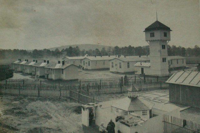 Infekční pavilon s vodárnou v Polské Chocni