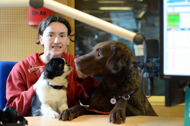 Klára Hlubocká se svými psy