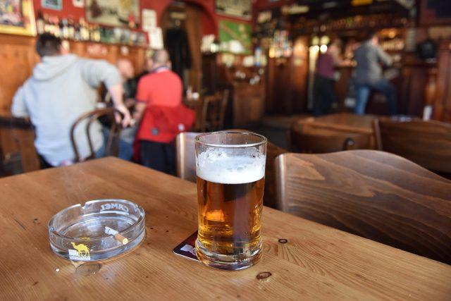 Hospoda, restaurace, pohostinství, pivo (ilustační foto)