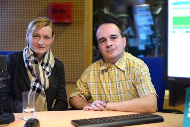 Valerie Fibichová a Martin Adámek