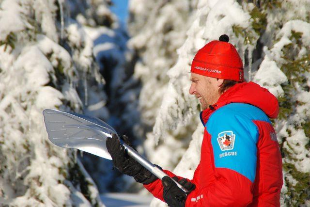 Náčelník horské služby v Orlických horách Josef Hepnar