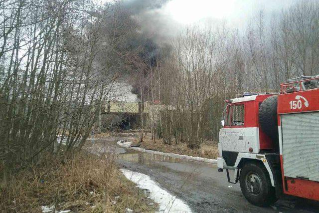 Exploze ve strojírnách v Poličce