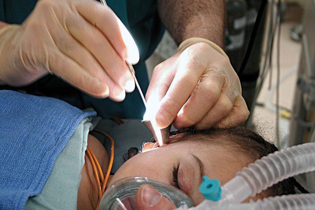 V nemocnici - vyšetření a operace sluchu  (ilustrační foto) | foto: Fotobanka Pixabay