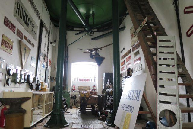 Muzeum sídlí v objektu bývalé vodárně z roku 1871, budova je kulturní památkou