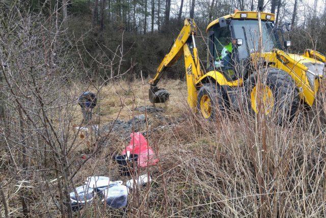 Odstraňování staré ekologické zátěže v Květné