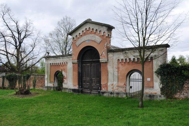 Židovský hřbitov leží na okraji Chrudimi