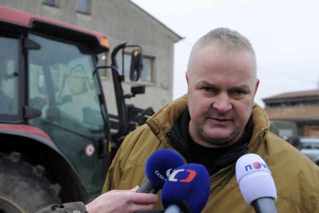 Zbrojař Martin Rudolf u muničního skladu firmy Multiagro ve Slatině