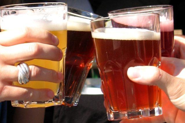 pivo - pití piva
