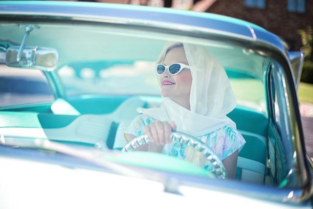 Žena řidička   foto: Fotobanka Pixabay