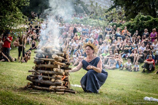 Lughnasad, festival keltské kultury, který se koná pravidelně uprostřed léta