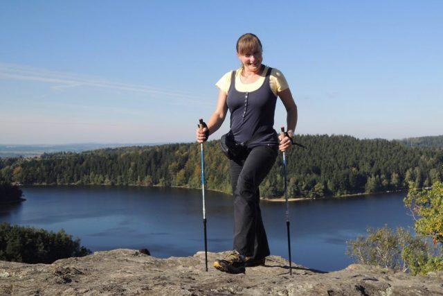 Lektorka nordic walking Taťána Holavová