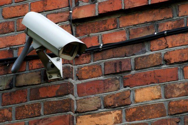 Bezpečností kamera vše vidí (ilustrační foto)