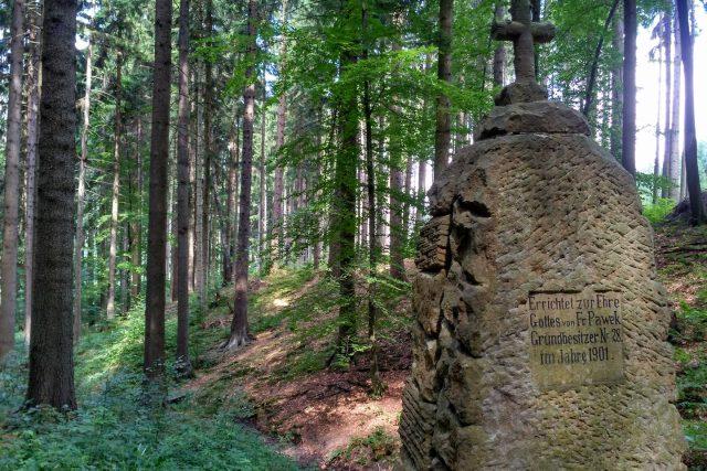Studánku Panny Marie nechal vybudovat německý starousedlík ze sousední vsi