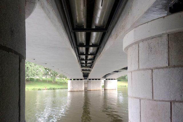 Most Pavla Wonky v Pardubicích   foto: Honza Ptáček,  Český rozhlas