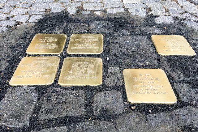 Kameny zmizelých v Chrudimi | foto: Josef Kopecký,  Český rozhlas