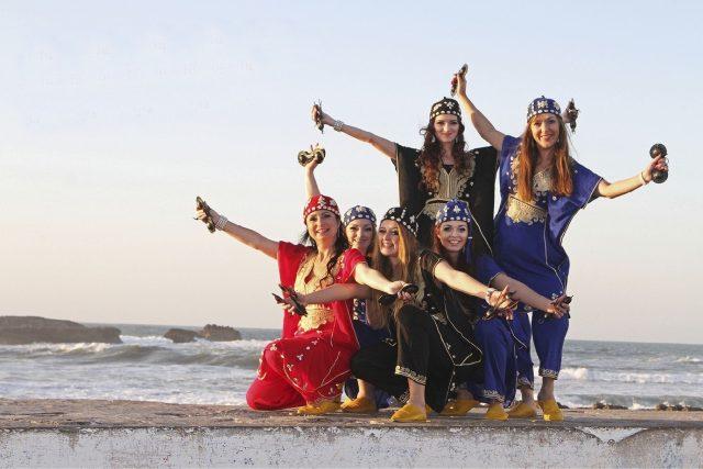 Tančí lépe,  než originální orientální tanečnice. Sahar má speciální cenu Marockého království | foto: Dana Minaříková - Sahar