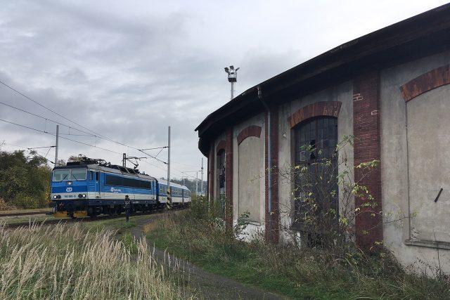 Bývalá železniční výtopna v Chocni