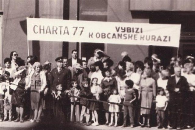 Z výstavy Charta 77 | foto: Archiv Českého centra Moskva