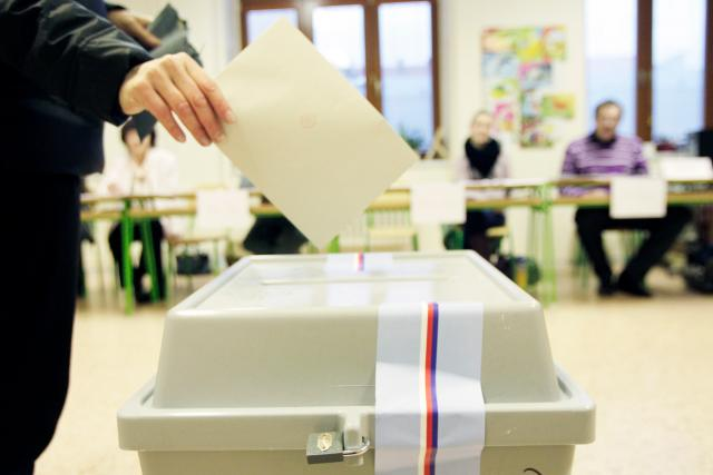 Volby, volební urna, ilustrační foto
