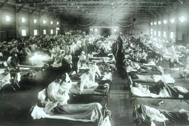 Před 100 lety vypukla španělská chřipka | foto: Wikipedia,  public domain - volné dílo,  Wikimedia Commons,  CC0 1.0
