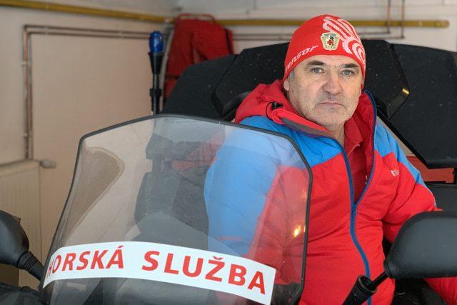 Náčelník horské služby Krkonoše Pavel Jirsa | foto: Zdeněk Novák,  Český rozhlas