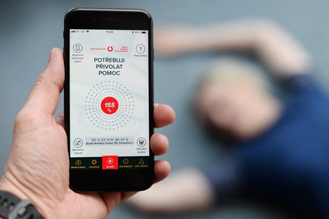 Aplikace Záchranka přivolá zdravotníky jedním stiskem