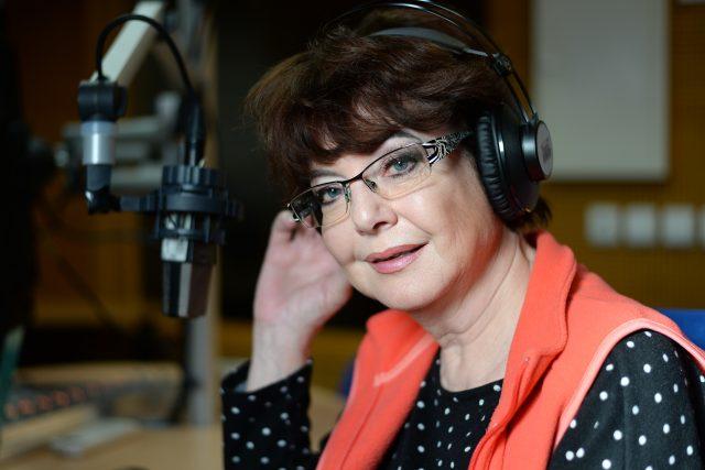 Moderátorka Marie Tomsová