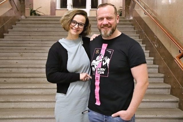 Kristýna Kociánová a Filip Blažek | foto: Jana Myslivečková,  Český rozhlas,  Český rozhlas