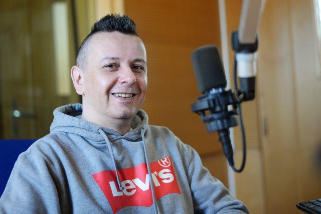 Jiří Ševčík v Českém rozhlase Pardubice