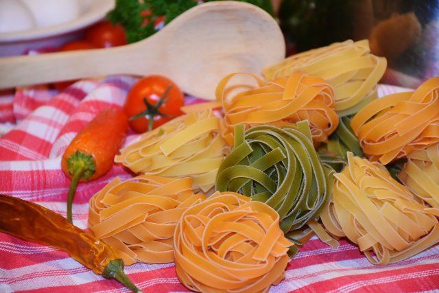 Tagliatelle - tradiční italské dlouhé ploché nudle  (ilustrační foto) | foto: Fotobanka Pixabay