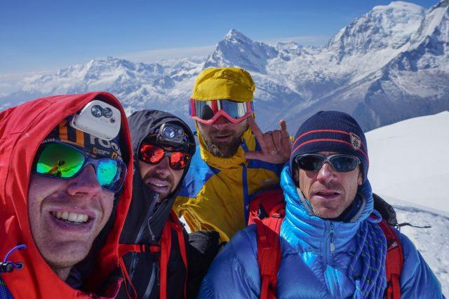 Na vrcholu Nevado Pisco