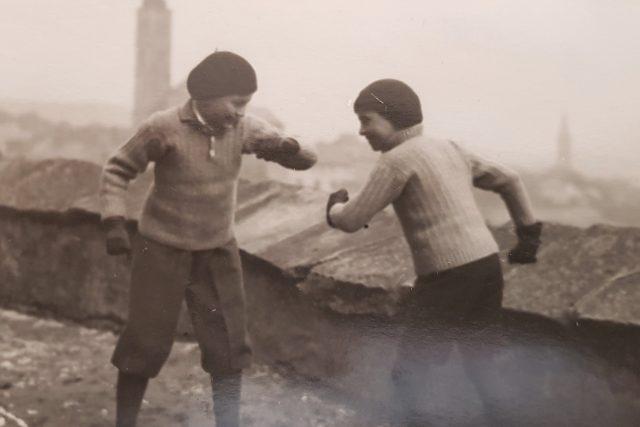 Franta a Jiří Frischmannovi holdují boxu